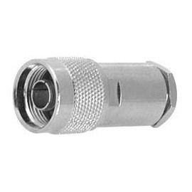 N MALE CONNECTOR  with teflon insulation for RG-8AU/RG213 10 pcs.
