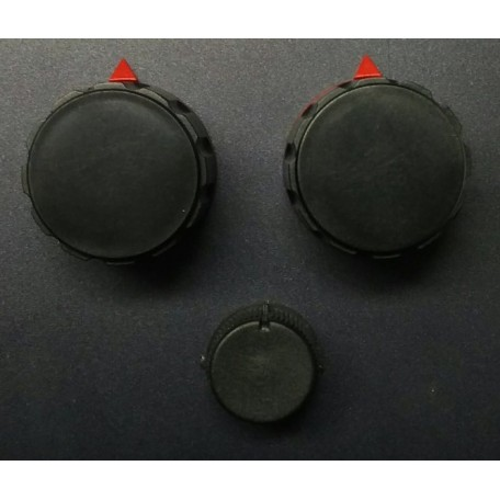 Kit 5 knobs for RM Italy KLV1000 Original replacement