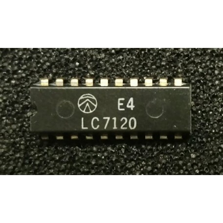 Sanyo LC7120 - CMOS LSI 27MHz CB TRANSCEIVER PLL FREQUENCY SYNTHESIZER