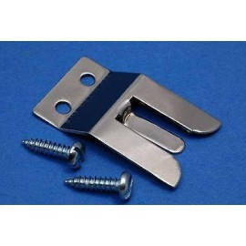 Microphone clip/holder with screws
