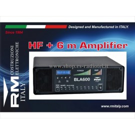RM Italy BLA600 - Solid State HF & 6m Linear Power Amplifier